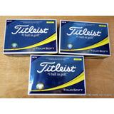 Titleist Tour Soft Yellow Golf Balls 3 Docenas De Bolas (3