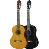 Guitarra Acústica Yamaha C40 Blk Kit Completo Por: Citimusic