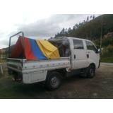 Camioneta Acarreos. Carga, Personal, Habitaciones