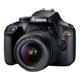 Nueva Cámara Canon Rebel T100 + 18-55+16gb+bolso+tripode