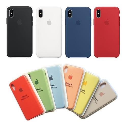 92259f1fcc5 Carcasa Original iPhone Apple Silicone Case 6s 7 Plus 6 X Xr