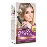 Kit Alisado Brasileño Kativa Natural C - mL a $433