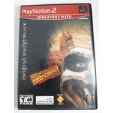 Juego Twisted Metal Black Ps2 Playstation 2