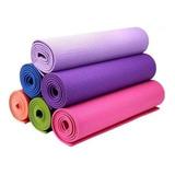 Colchoneta Para Yoga Pilates  6mm Tapete Gimnasio