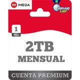 Cuentas Premium Mega 1 Mes Oficial 2048gb Envío Inmediato