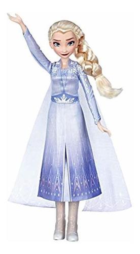 Muñeca Elsa De Frozen 2 Con Música - Disney Frozen
