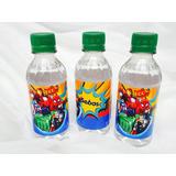 Botellas Agua Personalizada Fiesta Infantiles Eventos