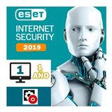 Nod32 Antivirus Eset Internet Security 12® 2019 1pc -1año