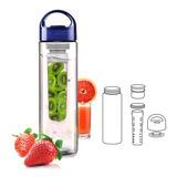 Termo Botella Deportes Infusión Té O Frutas Infusor Agua