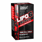 Lipo 6 Black Ultra Concentrado - 60 Caps - Nutrex