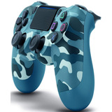 Control Ps4 Camuflado Azul Dualshock 4 Playstation 4 Blue