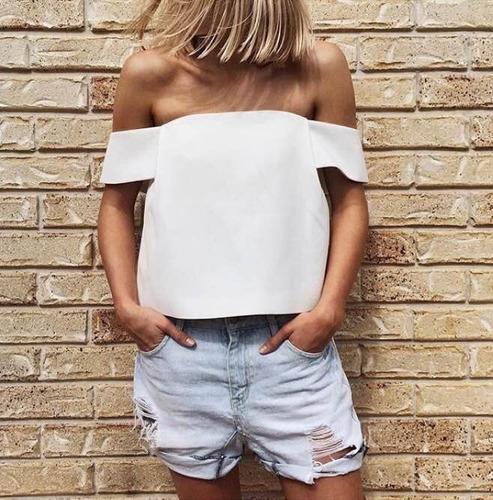 Blusas para mujer Limonni LI833 Campesinas