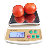 Balanza Digital Gramera Cocina 7kg X 1g Sf-400a