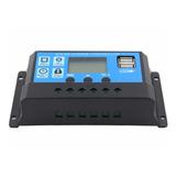 Regulador Controlador Carga Baterías Panel Solar 20a 12/24v