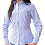 Camisa Oxford Dotacion Empresarial Clásico Dama