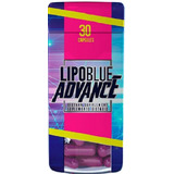 Lipoblue Advance 100% Original 30 Caps Lipo Blue Quemador!!!