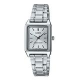 Reloj Casio Ltp-v007d Mujer Analogo Acero 100% Original