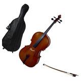Cello Violonchelo Greko Mc 6011a 4/4 Con Forro Y Arco Chelo