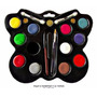 Pintucaritas Paleta Maquillaje Profesional Artistico Infanti