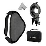 Godox Pro Floading Ajustable 80cm X 80cm Flash Soft Box...