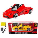 Carro Control Remoto Ferrari 5 Canales Importado Ajd