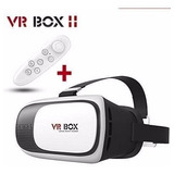 Gafas Realidad Virtual Smartphone 3d Vr Box + Control Remoto