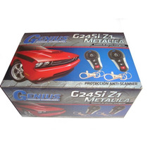 Alarma Para Carro Genius G24si -21 Sensor De Golpes 3 Canal