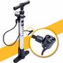 Bomba Piso De Bicicletas Con Manómetro Para Válvulas