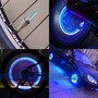 Luces Led Valvula Llanta Carro Moto Bicicleta - Luz + Sensor