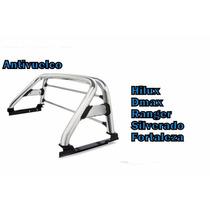 Antivuelco Roll Bar Cromado Para Camioneta Hilux Dmax Bt50