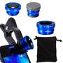 Fisheye 6x Macro Lente Gran Azul Para Buena Diversión Dc578