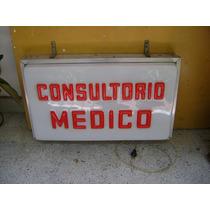 Aviso Iluminado De Consultorio Medico