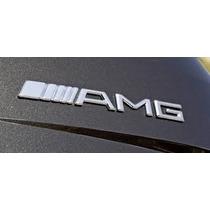 Emblema Amg Mercedes Insignia Logo Vehiculo Tunning