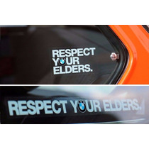 Bmw Respect Your Elders Calcomania E21 E30 E36 E34 E12 E24