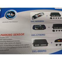 Combo Retrovisor 4,7 Pulg, Sensores Y Camara Reversa