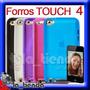 Forro Para Ipod Touch 4 Manguera Silicona De 8gb 32gb 64gb