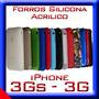 Forros Silicona Iphone 3g Acrilicos Funda Acrilico Forro 3gs