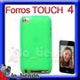 Forro Verde Ipod Touch 4 Manguera Silicona 8gb 32gb 64gb