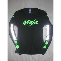 Camibusos/camisetas Mujer Moto Pulsar, Fz16, R15, Ninja Y +