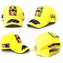 Gorra Motocross Racing The Doctor Amarilla Y Negra