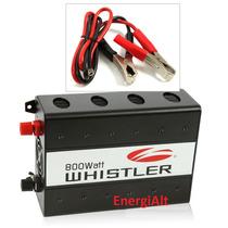 Inversor Conversor Whistler 800w 12a110v Auto Camion Carro