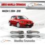 Juego De Manillas Cromadas Mazda 3 2004-2010
