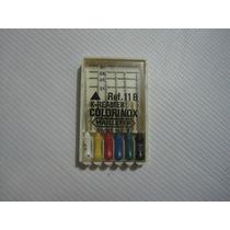 Limas Acero Inoxidable K File Colorinox Caja X 6 Unidades