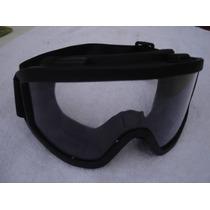 Mono Gafas Monogafas Negras Con Espuma Deportes Extremos
