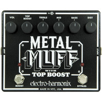 Distorsion Metal Muff Con Top Boost Electro Harmonix