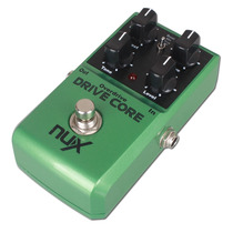 Pedal Nux Drive Core Booster Y Distorsion Para Guitarra