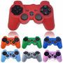 Forro Silicona Control Playstation 3 Ps2 Ps3 Varios Colores