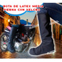 Bota Latex Impermeable Media Pierna Más Proteccion