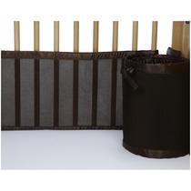 Cuna Sabana Breathablebaby Mesh Crib Liner- Bison