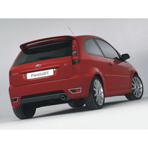 Spoiler Ford Fiesta Supercharguer Trae Kit Instalacion